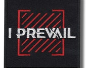 I Prevail Patch Badge Embroidered Iron on Applique