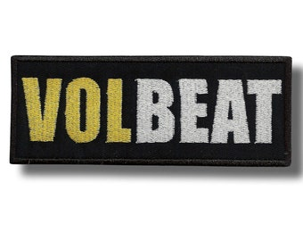 Volbeat Lola Montez Woven Sew On Patch Brand NewOfficialDeleted