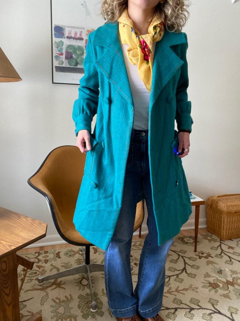 Handmade Vintage Wool Coat