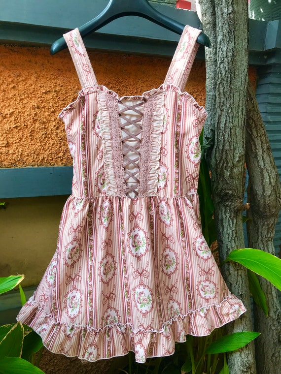 Kawaii Vintage Victorian Princess Dress