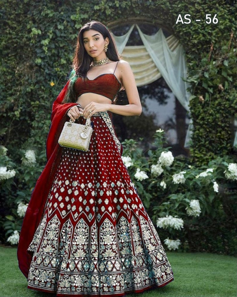 Exclusive Tapeta Silk Lehenga Choli Embroidery Work And Real Mirror Work With Blouse And Tissue Net Dupatta For Women
