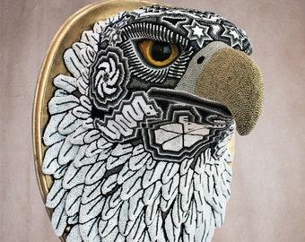 Huichol Art « Golden Eagle »