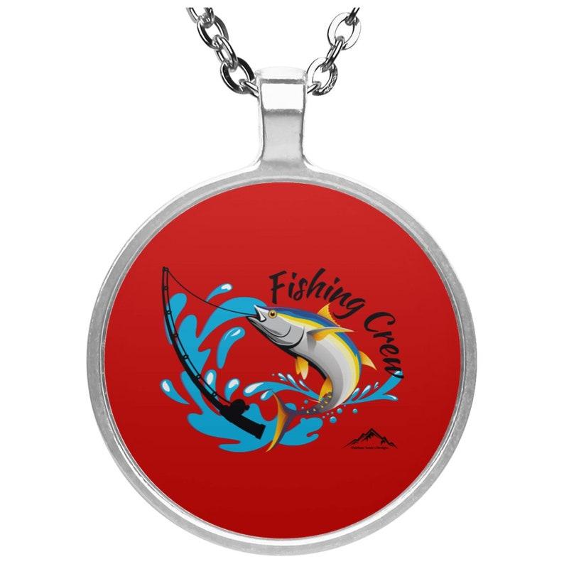 Fishing Crew UN4686 Circle Necklace