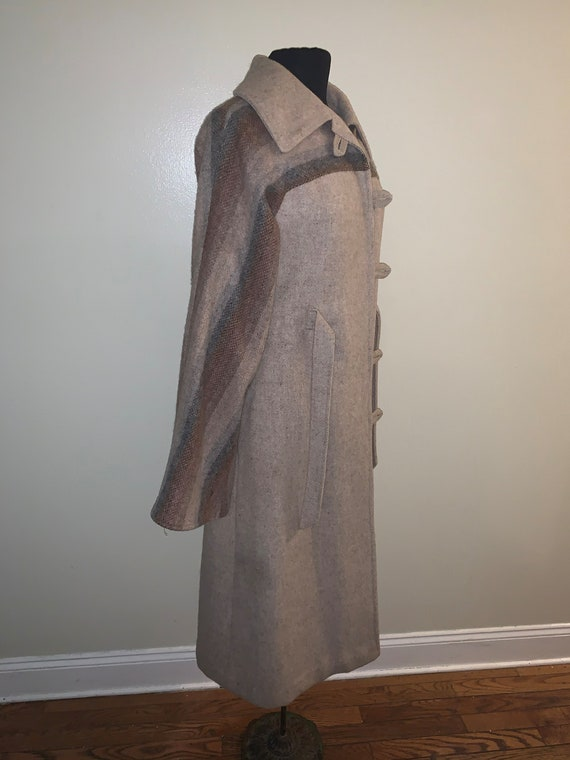 Wool Belted Coat - image 3