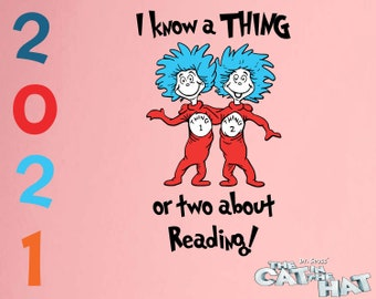 Dr Suess svg cricut Dr Suess silhouette png dxf Dr Suess svg dxf png I teach a thing or two at sanbridge early learning center svg