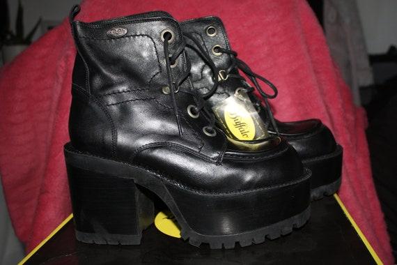 DEADSTOCK 90s BUFFALO london platform boots, goth