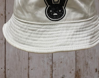 double sided conejo malo hat #yhlqmdlg double color Bad Bunny Bucket hat with 2 designs