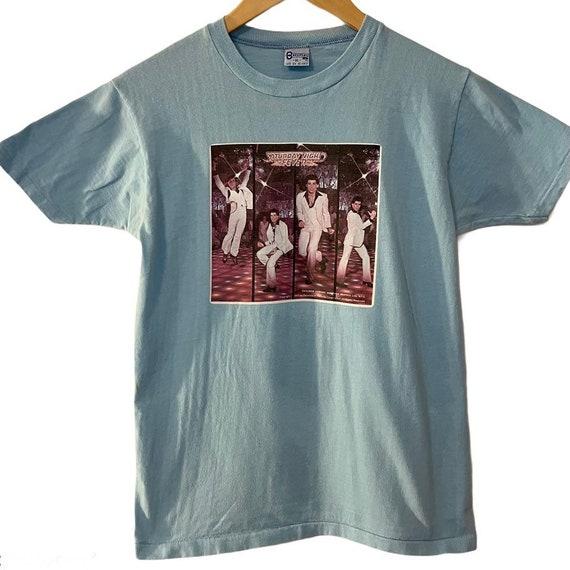 Vintage 1977 Saturday Night Fever tshirt women's X