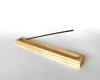 Large Wood Incense Holder