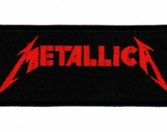 Thrash Speed metal band patch. Metal Church band logo patch