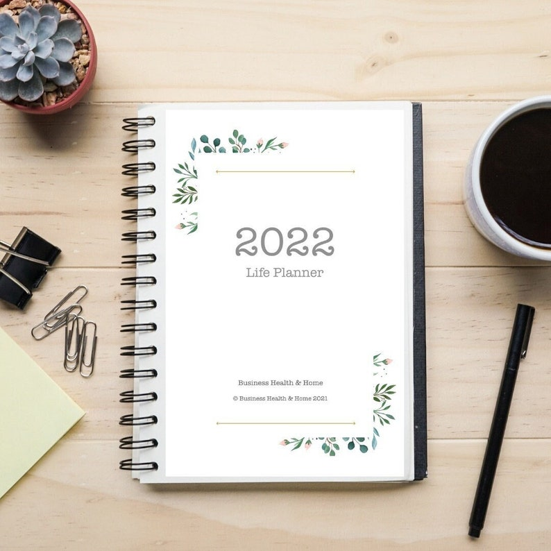 2022 Life Planner / Diary image 0