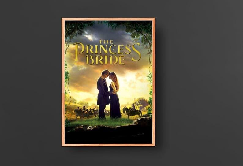 The Princess Bride Movie Poster 1987