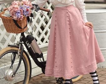 "Skirt ""Beatrix"" in Edwardian vintage style"