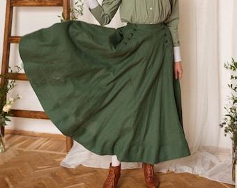 "Skirt ""Suffragette"" in Edwardian vintage style"