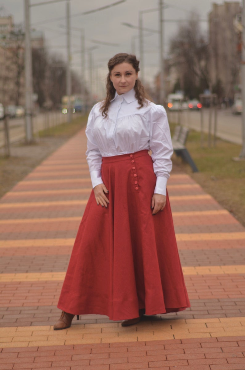 Edwardian Skirts History – 1900 – 1910s Skirt