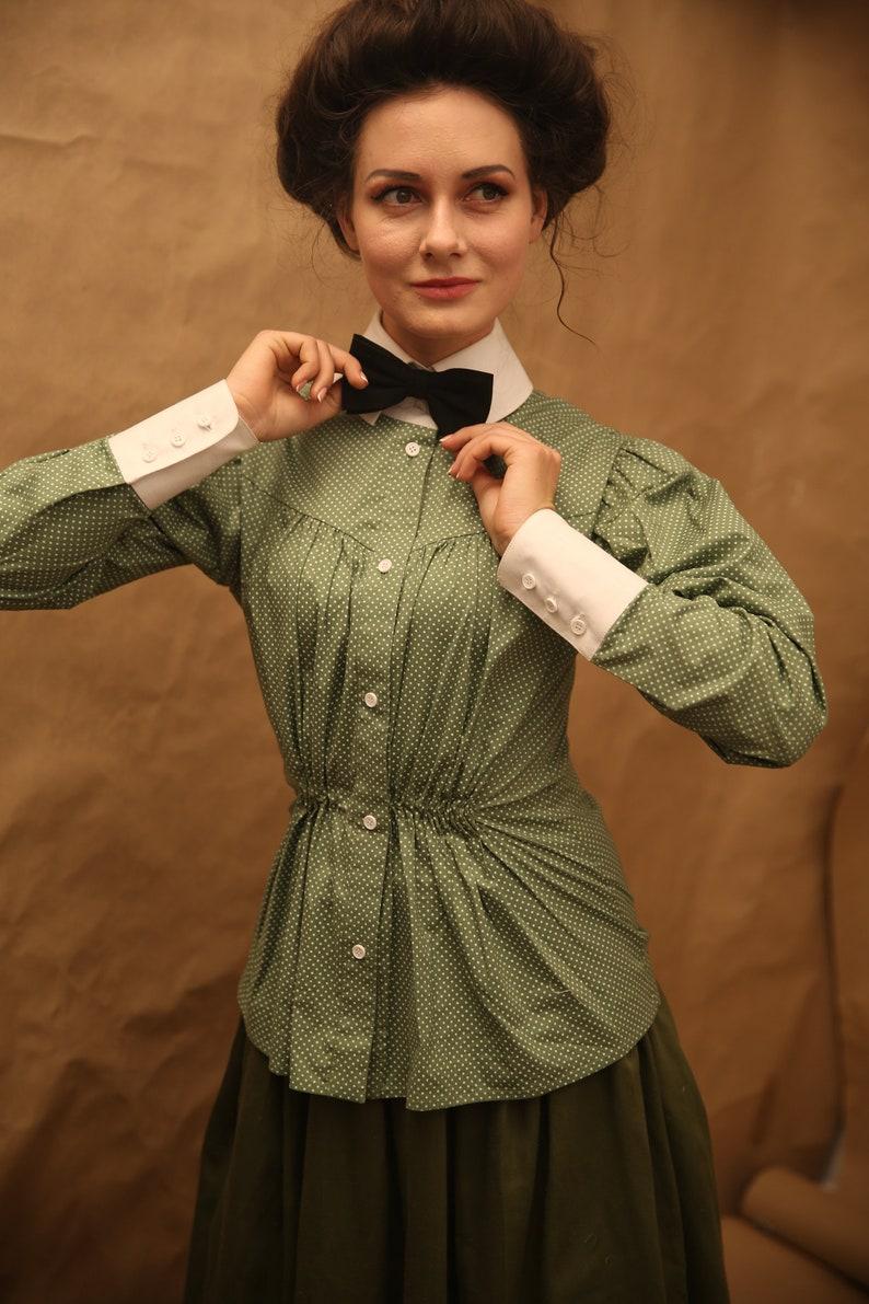 Edwardian Blouses |  Lace Blouses, Sweaters, Vests     Blouse Suffragette