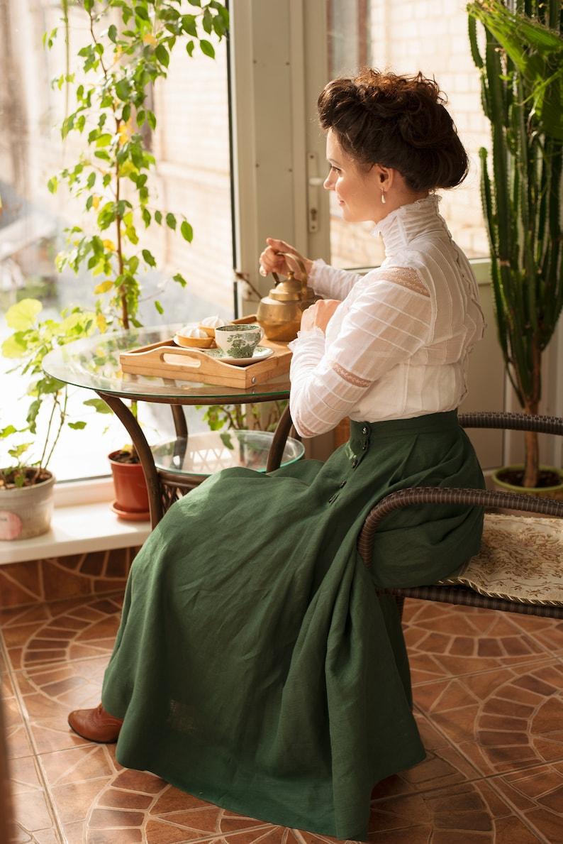 Edwardian Blouses |  Lace Blouses, Sweaters, Vests     Blouse Lily Elsie