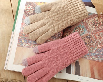 WOOLEN ARM WARMERS Paisley Fingerless Gloves Warm Hippy Pixie Mittens Psytrance Fairtrade