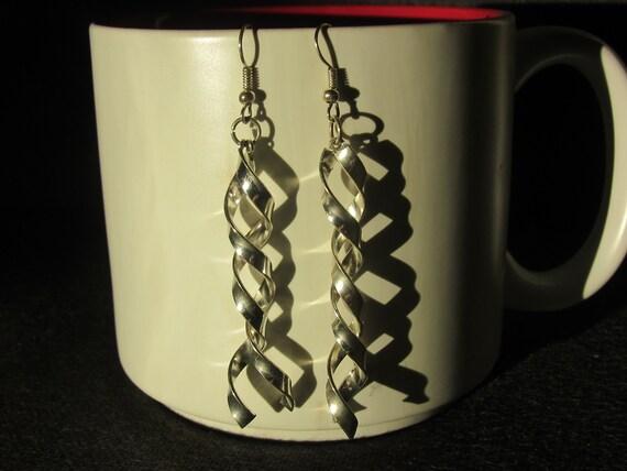 Vintage Spiral Earrings