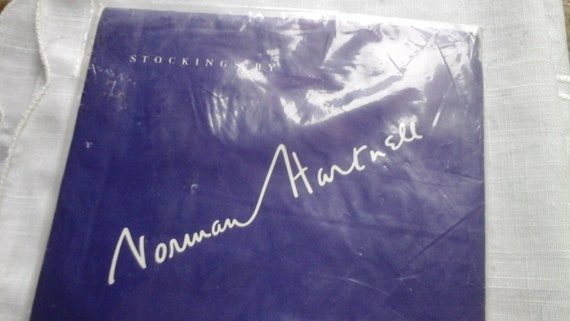 Vintage 60's Norman  Hartnell Seam free stockings