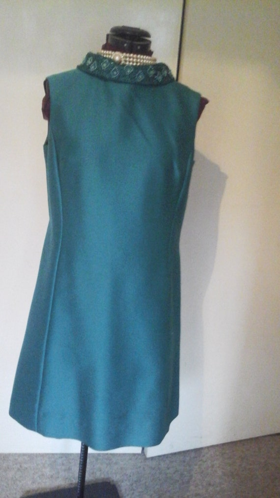 Vintage Petite Francaise Emerald Green 60'screen D