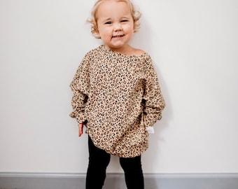 Cheetah Childrens Sweatshirt, cheetah print, cheetah print clothes, childrens cheetah print, cheetah print sweatshirt, cheetah sweatshirt