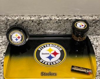 Pittsburg Steelers inspired Stash Jar