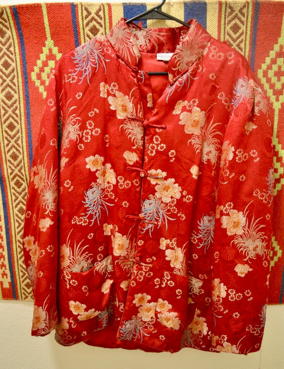Vintage Chinese Embroidered Jacket