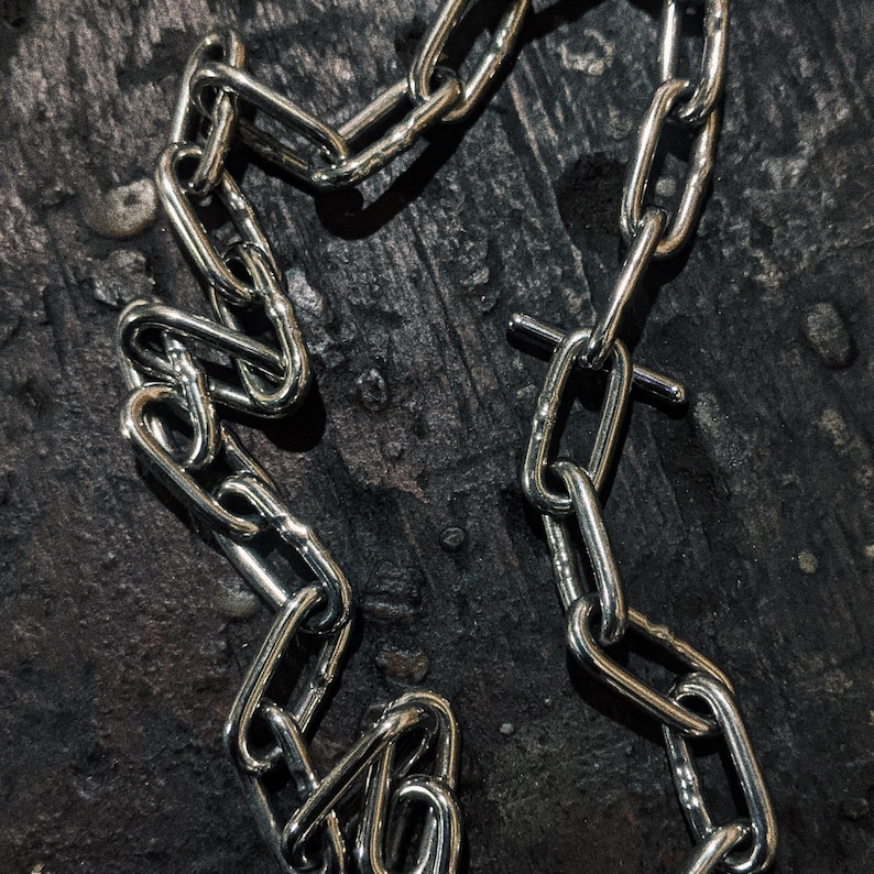 neck anchor stainless steel chain