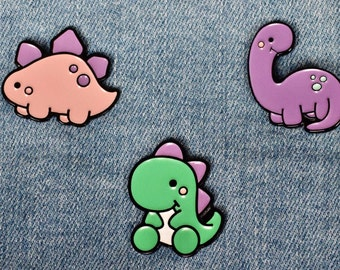 Dinosaur Enamel Pins | Cute Dino Pin | Perfect Gift/ Present | Very snazzy