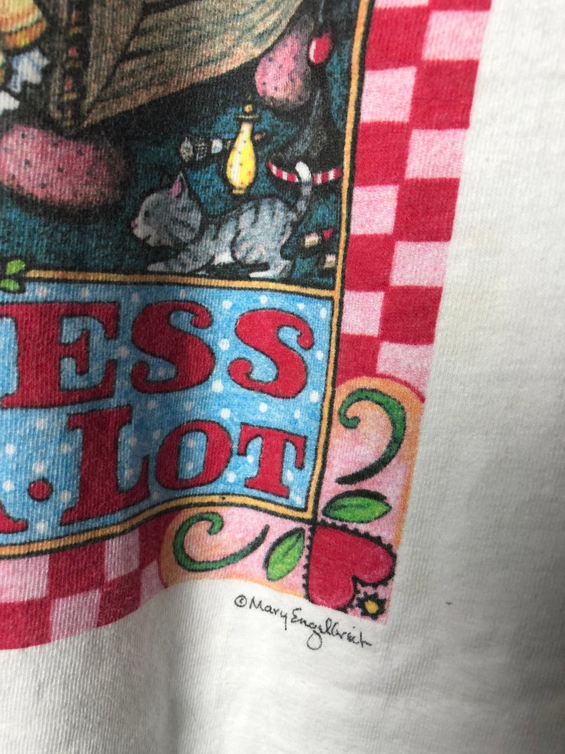 Vtg 90s Princess of Quite A Lot by Mary Engelbreit Tshirt90s Princess of Quite A Lot TshirtVtg 90s Art TshirtSingle Stitch