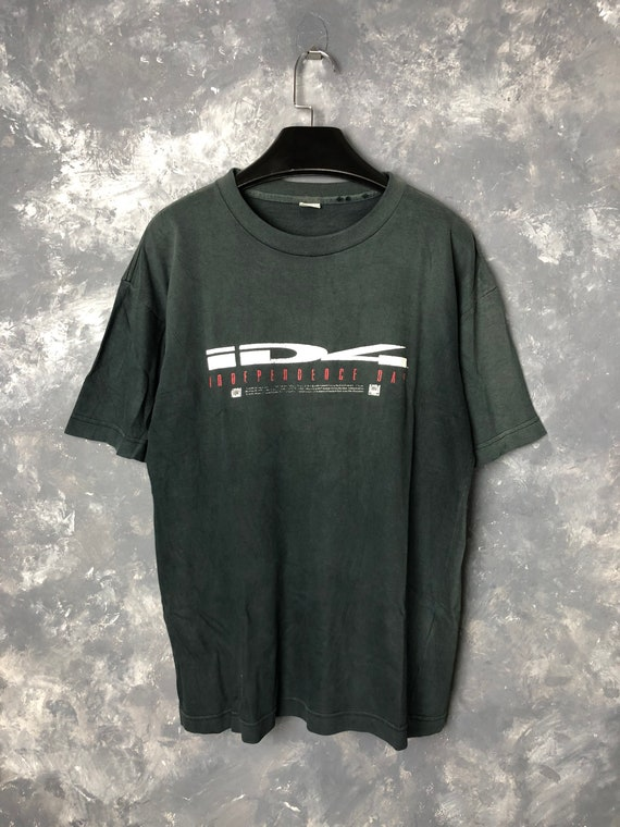 Vtg 1996 Independence Day Movie Tshirt/Vtg 90s ID4