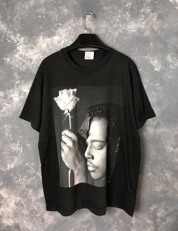 "90s Vtg Luther Vandross ""Never Let Me Go"" Tshirt/9"