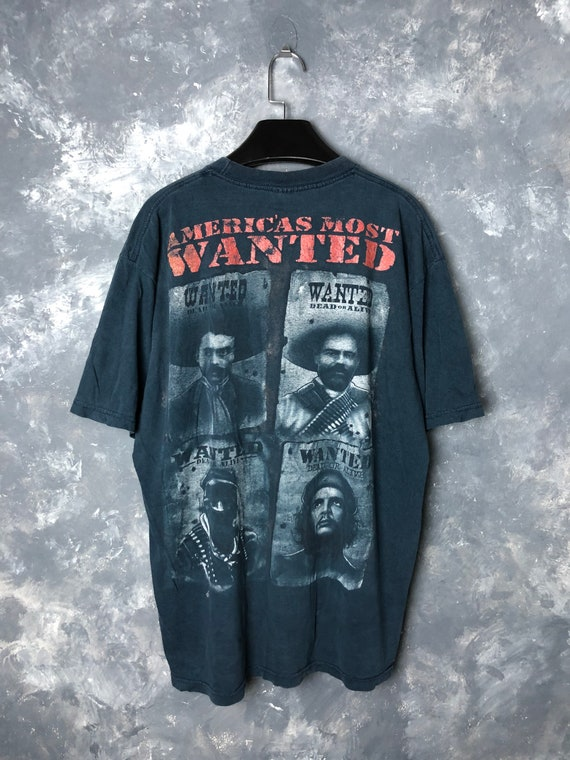 90s Vtg America's Most Wanted Tshirt/Vtg 90s  Boot
