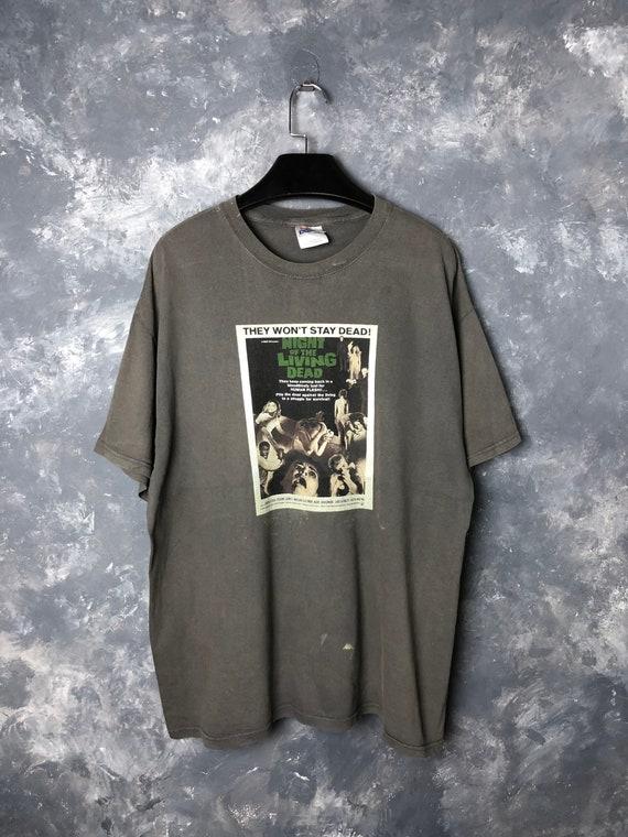 Vtg 00s Night of the Living Dead Movie Tshirt/Vtg