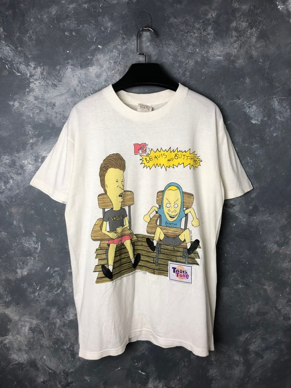 90s Vtg MTV Beavis & Butthead by Touch Tone Tshirt