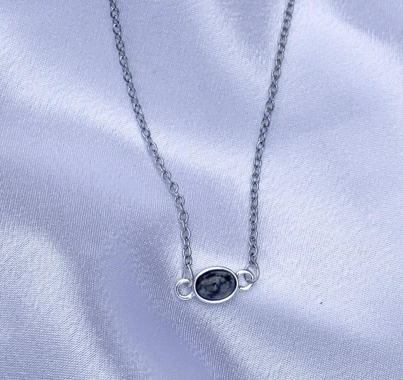 black and silver choker black tone gemstone necklace silver choker silver chokers black gemstone gemstone choker