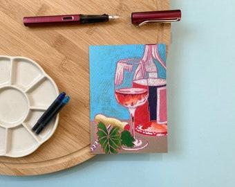 Postcard: Summer Wine 1