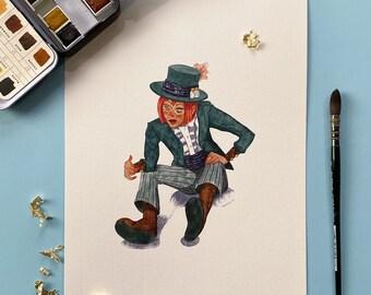 Art print A4: Steampunk Maude