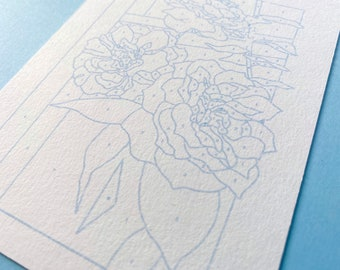 Painting by numbers: Roses
