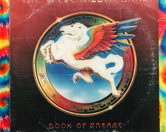 The Steve Miller Band 1977 Book Of Dreams (w/ Jungle Love) Vintage Vinyl Record