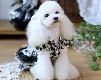 Handmade Black pet clothes, Designer dog coat, Fashion & Stylish dog clothes