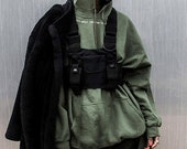 Tactical Shoulder Chest Rig Bag Adjustable Techwear Project L