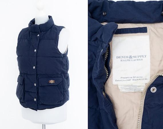 Women's Denim Supply Ralph Lauren Down Vest Gilet