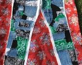Custom bandana jeans