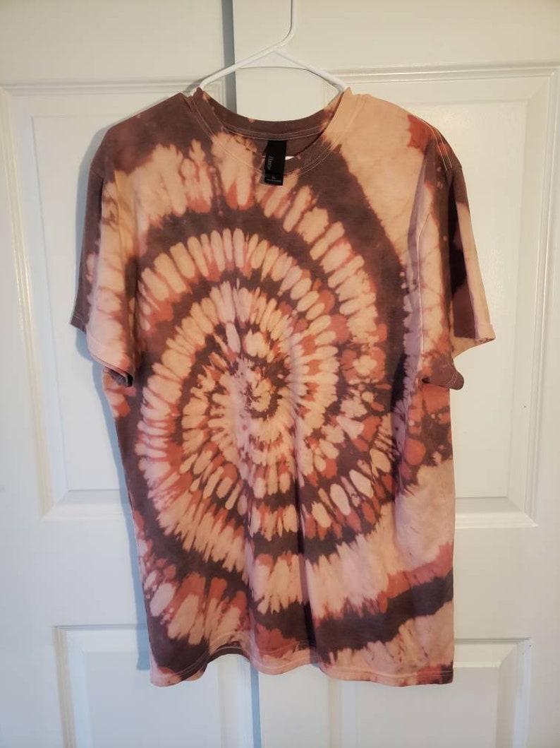ReverseBleach Dyed Tee Womens OversizedMens XL