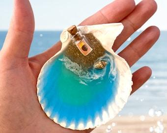 ACNH Beach Shell Star Frag & DIY Bottle Beach Vibes Décor