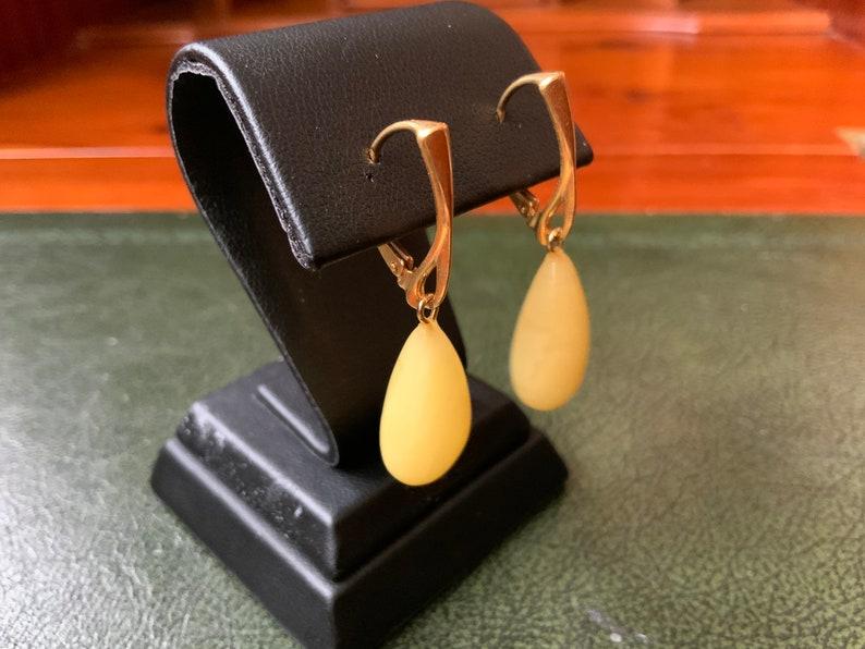11.9*40 mm amber gold earrings milky butterscotch white amber gold plated sterling silver 925 dangle earrings big gem stone amber earrings