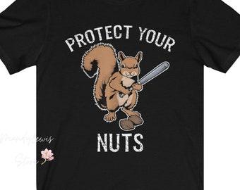 Farm Tees Floral Squirrel Shirt Farm Shirt Women/'s Squirrel Shirt Squirrel Lover Shirt Squirrel Shirt