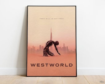 Westworld TV Show Giant Wall Art poster Print
